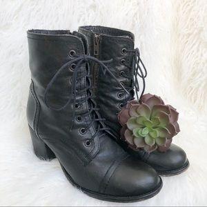 "Steve Madden ""Graanie"" Women's Lace Up Combat Boot"